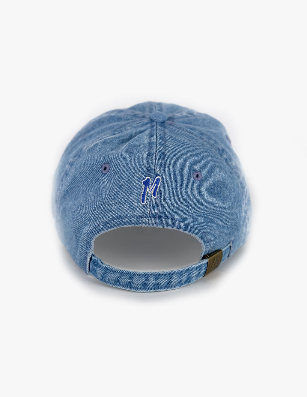 LIGHT WASH DENIM BASEBALL HAT