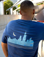 MIDNIGHT SKYLINE TEE