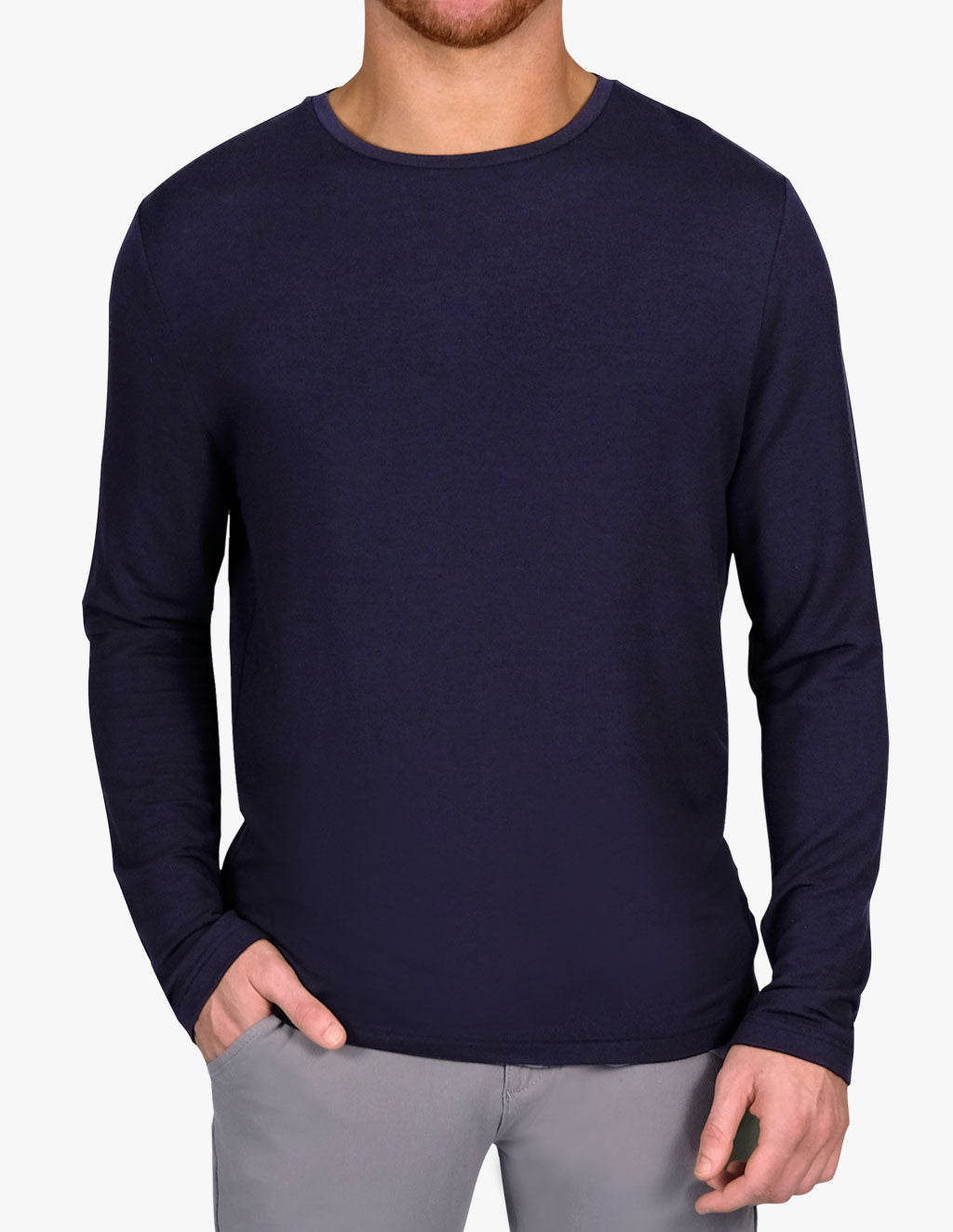 MIDNIGHT CASHMERE LONG SLEEVE