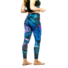 Birth of Athena Sublimation Leggings by The Welch Brothers