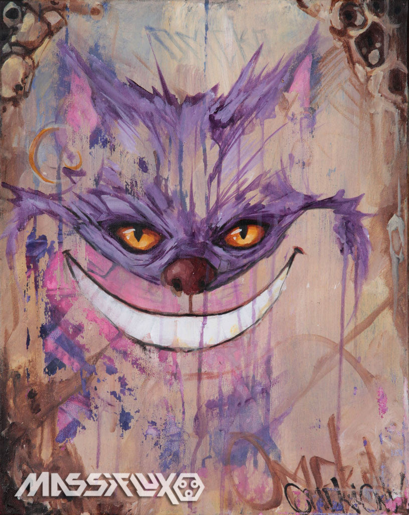 Cheshire Cat by Gabriel Welch