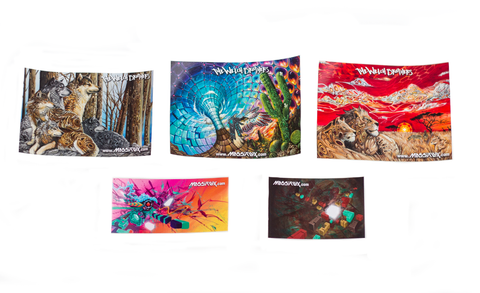 Massiflux Sticker 5-Pack