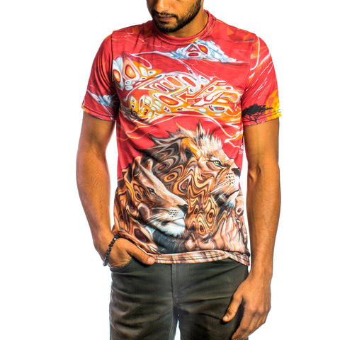 Sunset Safari Sublimation T by The Welch Brothers