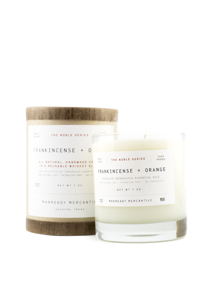 Noble Series Soy Candles (Frankincense + Orange)