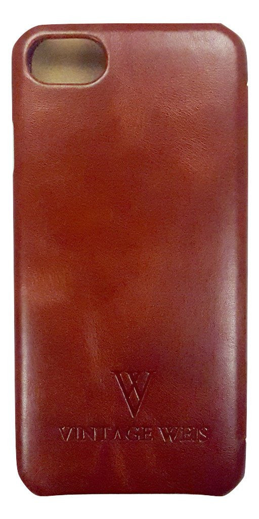 iPhone 7 Case (Brown Leather)