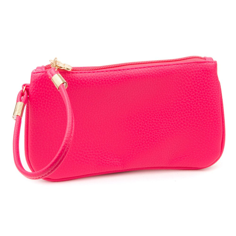 Hot Pink Suzanne Wristlet