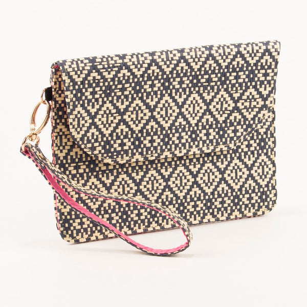 Freeport Wristlet in Navy