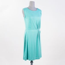 Pleated Waist Dress in Mint