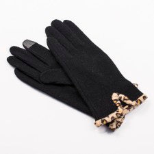Leopard Tech Gloves
