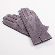 Gray Suede Gloves