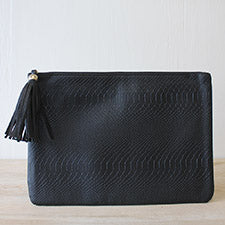 Black Erin Clutch