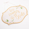 Reversible Wedding Sign
