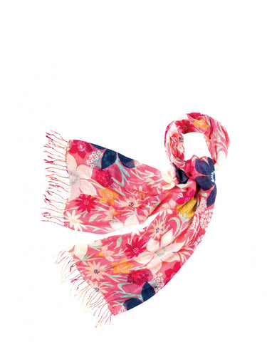 Pink Meadow Scarf