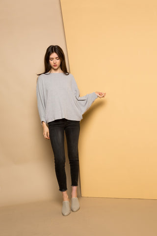 Dolman Ribbed Sweater