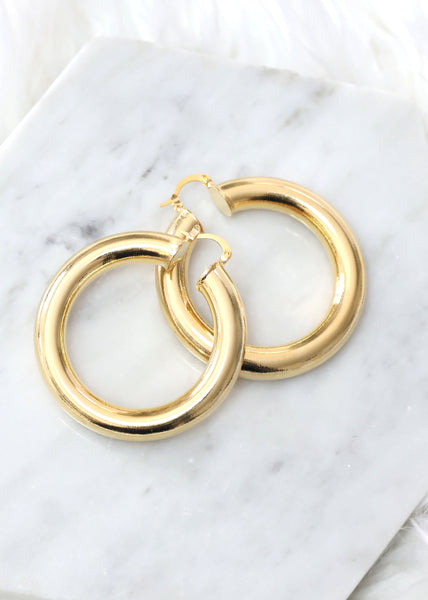 Big Hoop Earrings, Chunky Hoop Earrings, Oversize Earrings, Gold Hoop Earrings, Gypsy Hoop Earrings, Boho Chic Earrings, Large Earrings