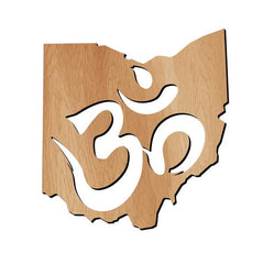 Ohio Ohm Wood Print
