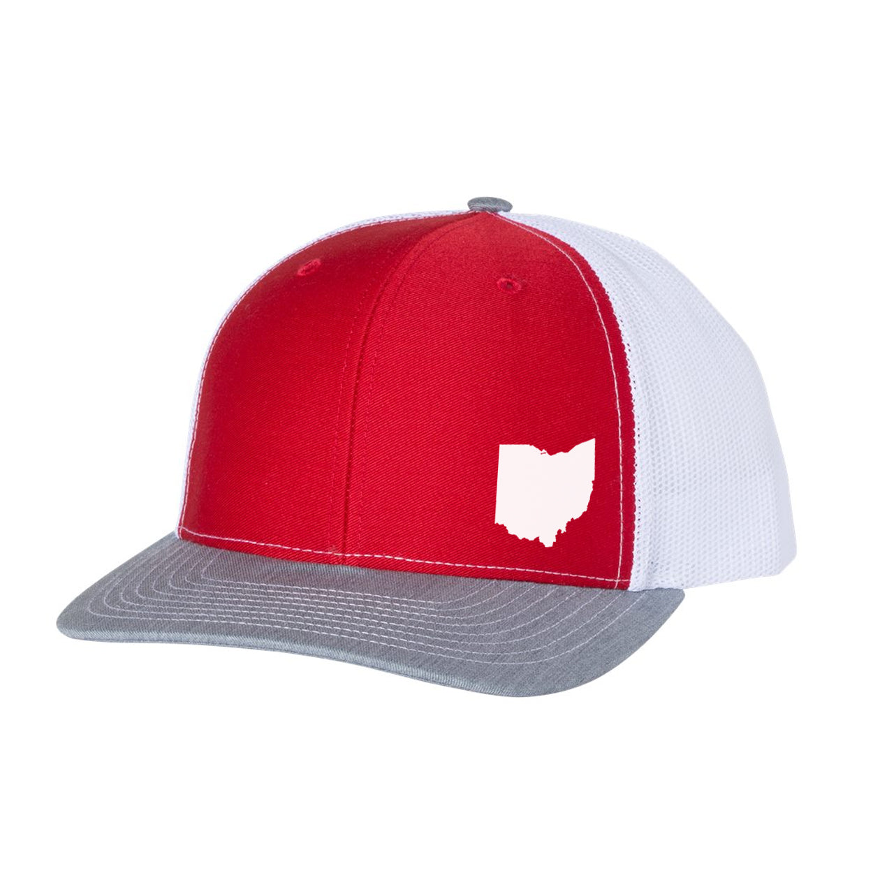 Small Ohio Patch Snap Back Hat