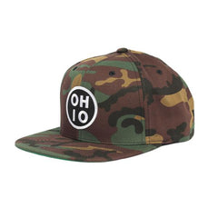 Circle Ohio Patch Snap Back Hat