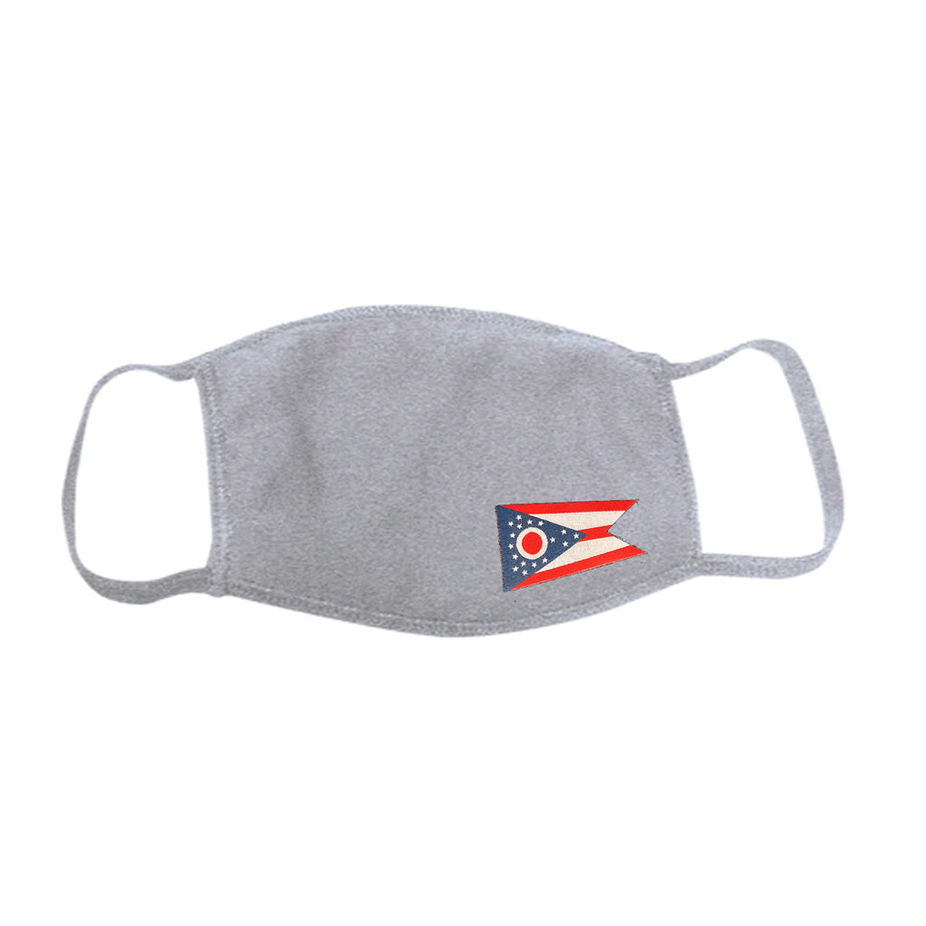 Cotton Face Mask - Ohio State Flag