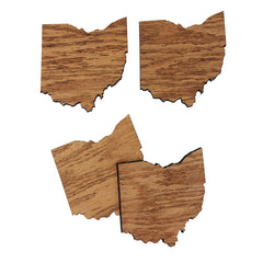 Ohio Drink Coasters Set
