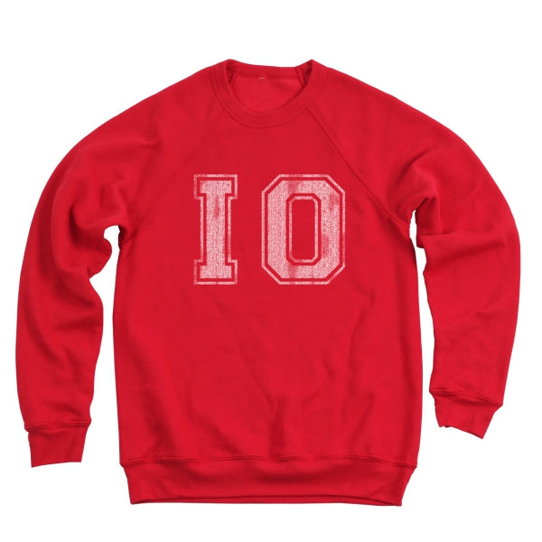 Io Distressed Men's Ultra Soft Sweatshirt - Clothe Ohio - Soft Ohio Shirts