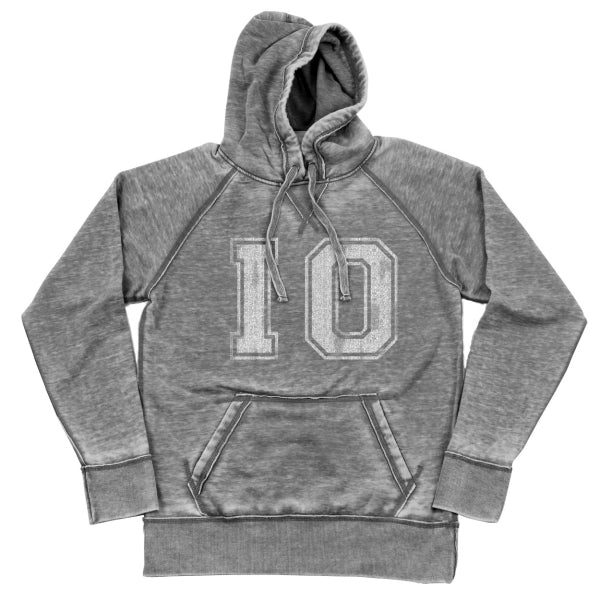 Io Distressed Shredded Hoodie - Clothe Ohio - Soft Ohio Shirts