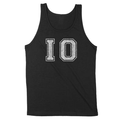 Io Distressed Men's Unisex Tank - Clothe Ohio - Soft Ohio Shirts