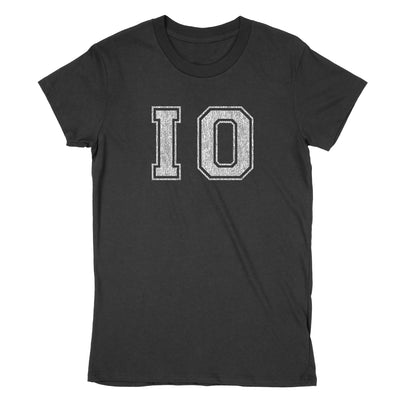 Io Distressed Women's T-Shirt - Clothe Ohio - Soft Ohio Shirts