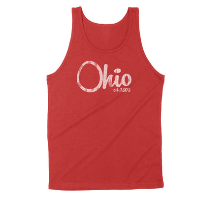 Ohio Est. 1803 Men's Unisex Tank - Clothe Ohio - Soft Ohio Shirts