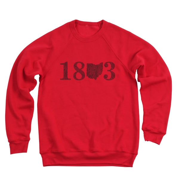 18 Ohio 3 Men's Ultra Soft Sweatshirt - Clothe Ohio - Soft Ohio Shirts