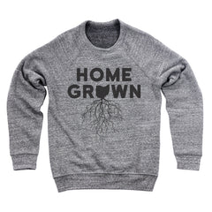 Home Grown Roots Ohio (Black) Ultra Soft Sweatshirt