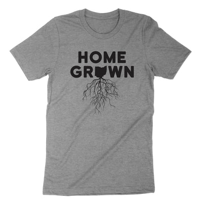 Home Grown Roots Ohio Black Youth T-Shirt - Clothe Ohio - Soft Ohio Shirts