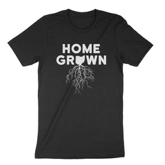 Home Grown Roots Ohio White Youth T-Shirt