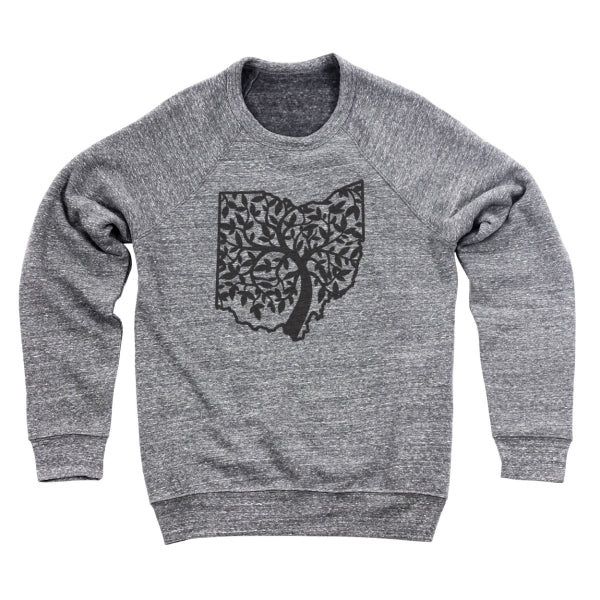 Ohio Tree Of Life Ultra Soft Sweatshirt - Clothe Ohio - Soft Ohio Shirts