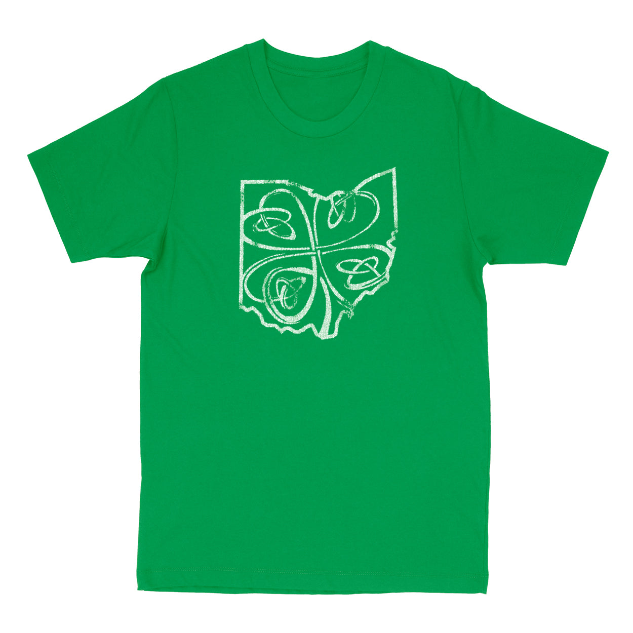 Ohio Shamrock Youth T-Shirt - Clothe Ohio - Soft Ohio Shirts