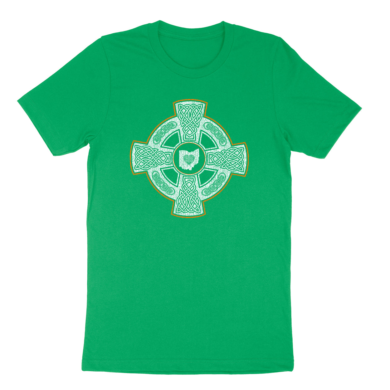 Celtic Crest Ohio Men's T-shirt