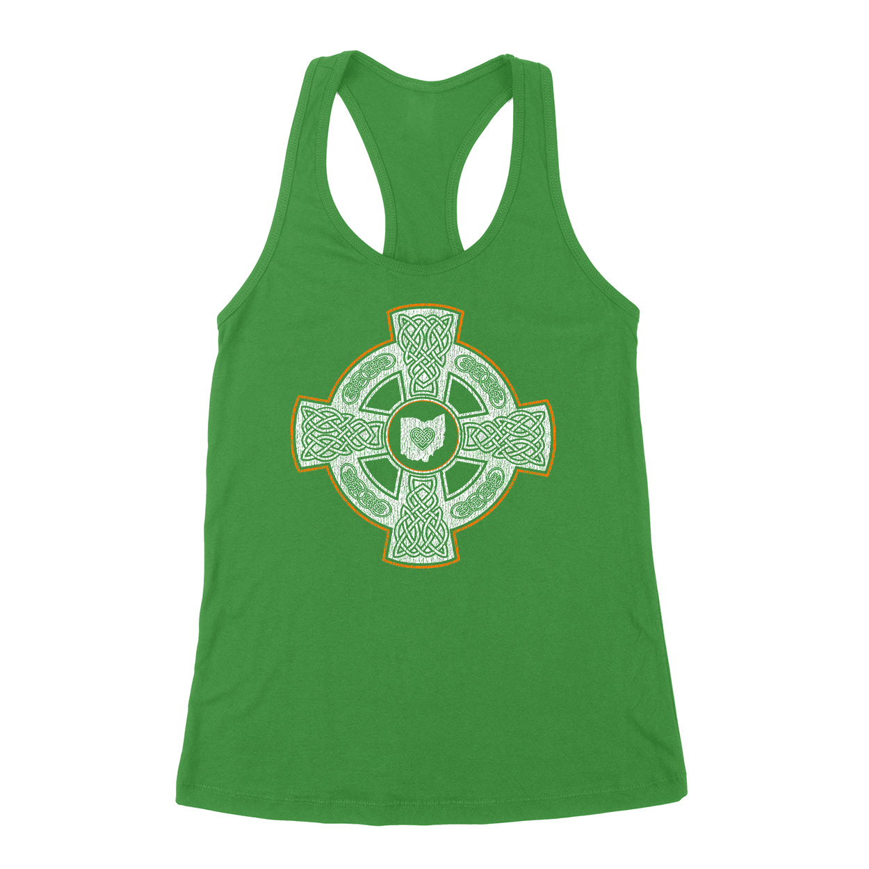 Celtic Crest Ohio Women's Tank