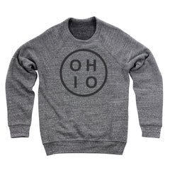 Ohio Circle Black Ultra Soft Sweatshirt