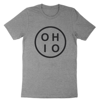 Ohio Circle Black Youth T-Shirt - Clothe Ohio - Soft Ohio Shirts