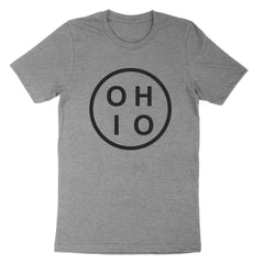 Ohio Circle Black Youth T-Shirt