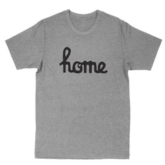 Home Ohio Script Black Men's T-Shirt