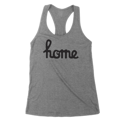 Home Ohio Script Black Women's Tank - Clothe Ohio - Soft Ohio Shirts