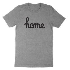Home Ohio Script Black Youth T-Shirt