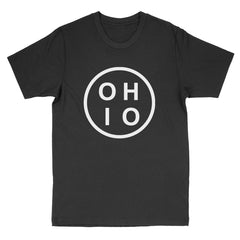 Ohio Circle White Men's T-Shirt