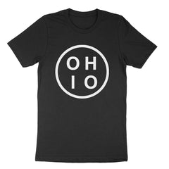 Ohio Circle White Youth T-Shirt