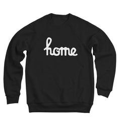 Home Ohio Script White Ultra Soft Sweatshirt