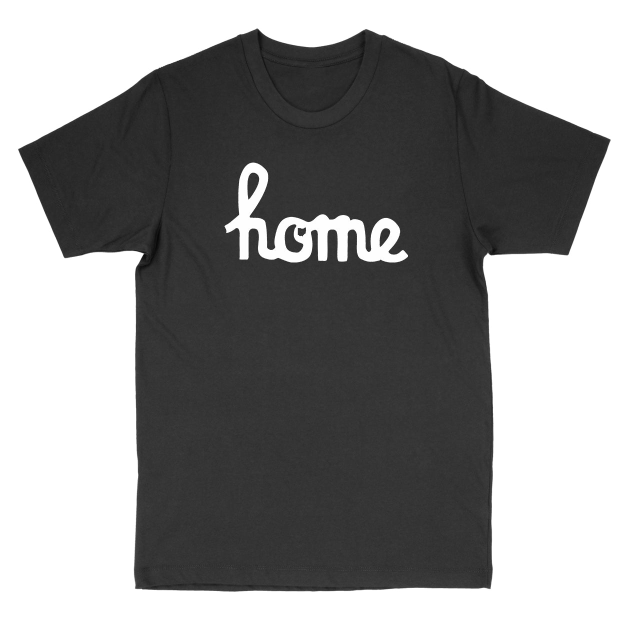 Home Ohio Script White Men's T-Shirt - Clothe Ohio - Soft Ohio Shirts