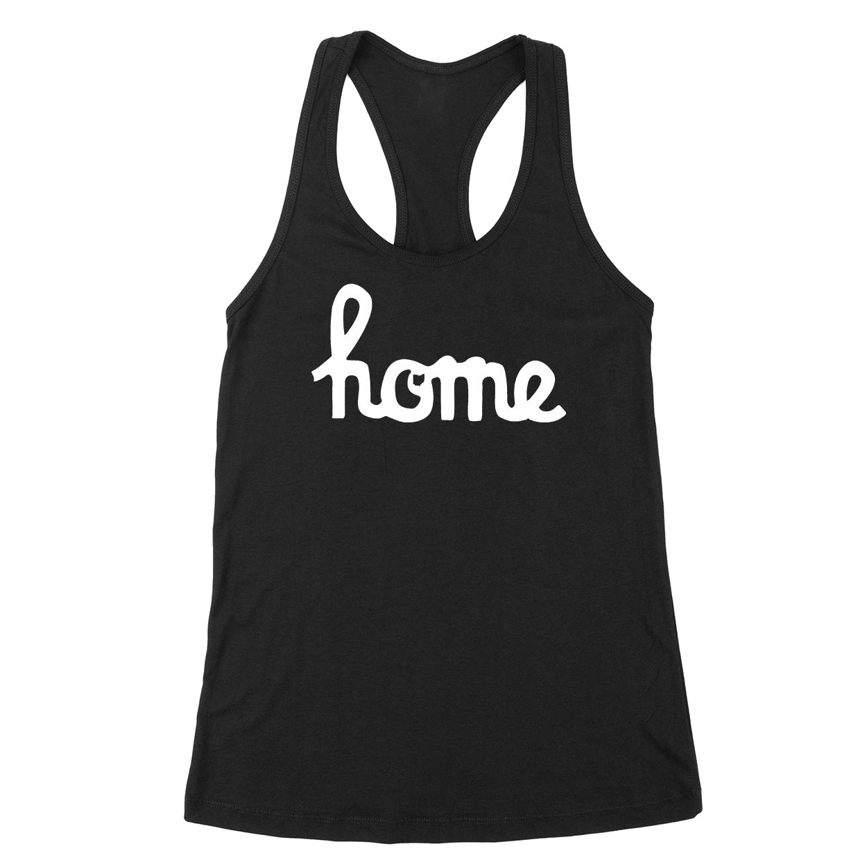 Home Ohio Script White Women's Tank - Clothe Ohio - Soft Ohio Shirts