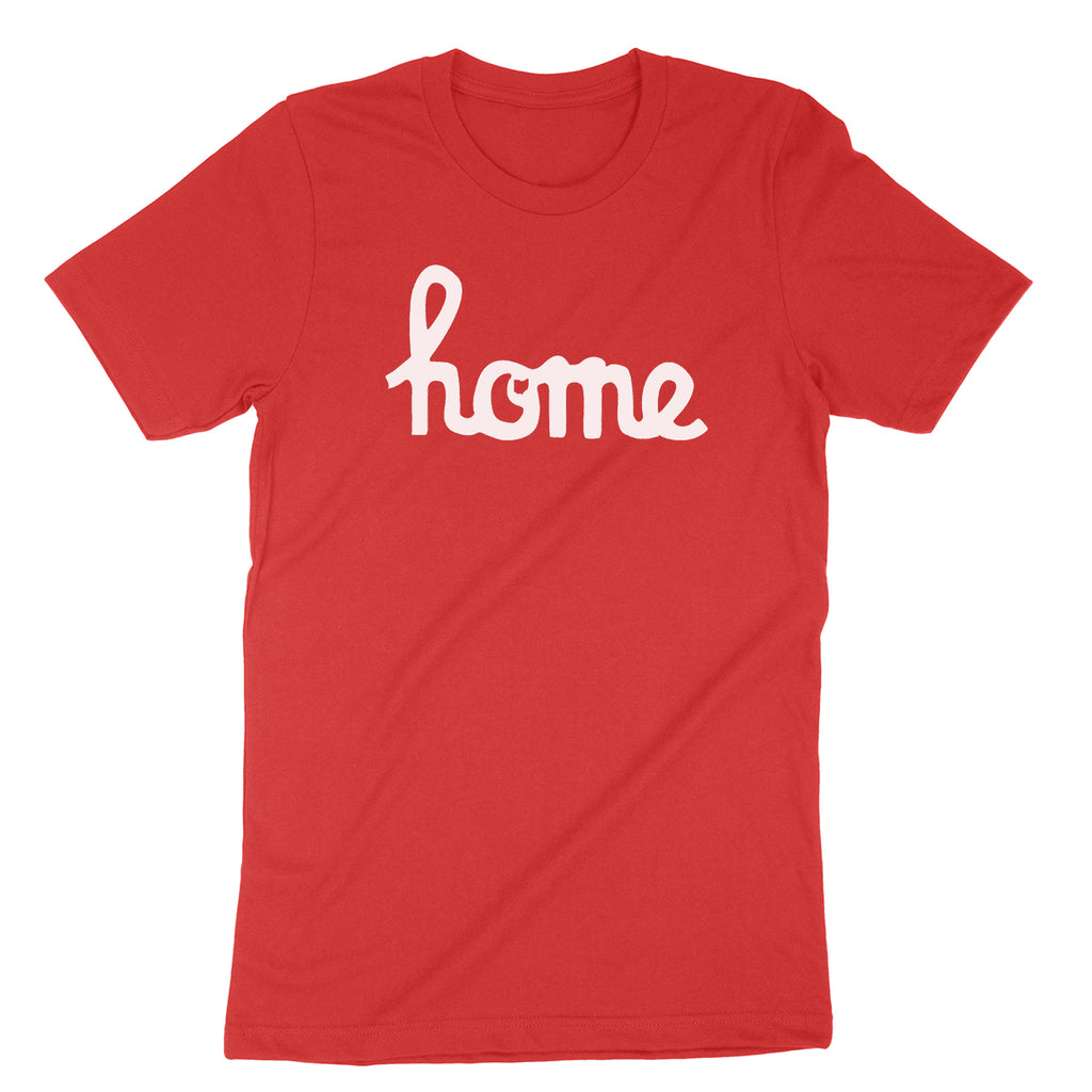 Home Ohio Script White Youth T-Shirt - Clothe Ohio - Soft Ohio Shirts