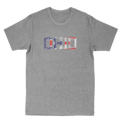 Ohio State Flag Print Men's T-Shirt